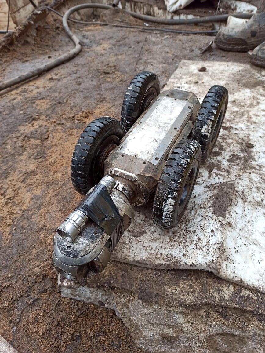 Новая технология восстановления трубопровода